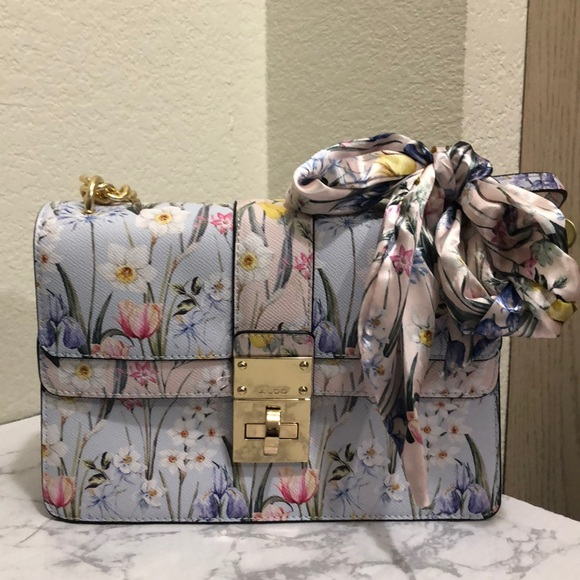 Aldo Handbags - NWOT ALDO FLORAL CERANO CROSSBODY BAG b8d2cb22bb856